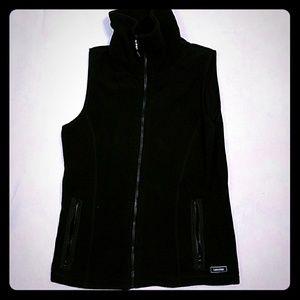 Black Calvin Klein Fleece Performance Vest